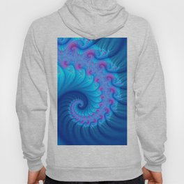 colorful fractal spirals -124- Hoody