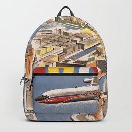 Vintage Chicago Poster Backpack