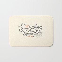EVERYTHING BEAUTIFUL Bath Mat