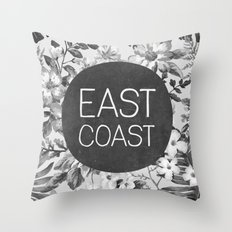 East Coast Throw Pillow