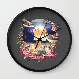 Second Sun  Wall Clock