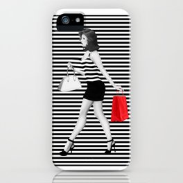 Stripes in fashion iPhone Case