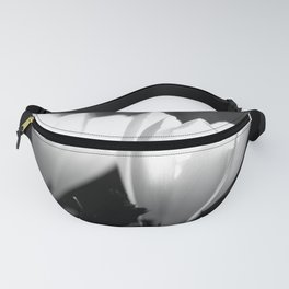 You Two - Crocus Flowers Black And White Fanny Pack
