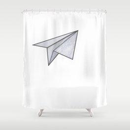 Marbelous plane Shower Curtain