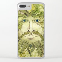 The Greenman Clear iPhone Case