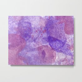Purple Zest Metal Print