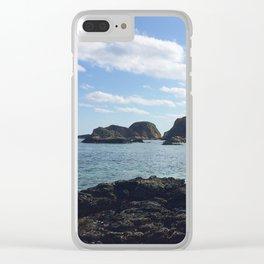 Okinawa, Japan Beach Ocean View 2 Clear iPhone Case