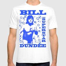 Legendary Memphis Wrestler Bill Dundee Mens Fitted Tee White SMALL