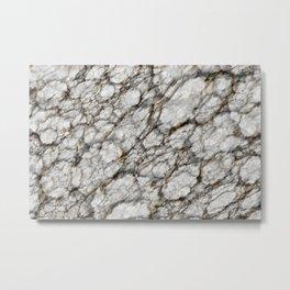 Marble Puddles Metal Print