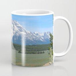 Snake River And Grand Teton Range Coffee Mug