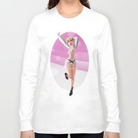 miley Long Sleeve T-shirts featuring Miley by raulovsky (Raúl Ramos Melo)