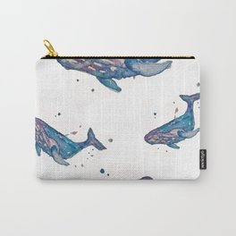 Whale Splash Carry-All Pouch
