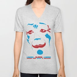 Laugh Clown Laugh Unisex V-Neck