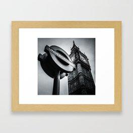 London I Framed Art Print