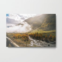 Sensational view.  Metal Print