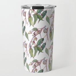 Australian eucalyptus tree branch Travel Mug