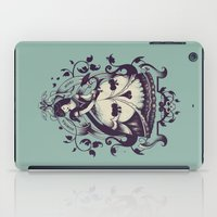 death iPad Cases featuring Mrs. Death by Enkel Dika
