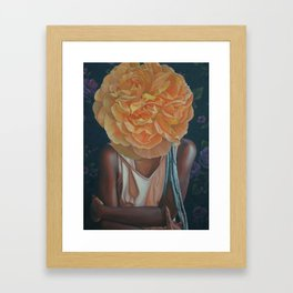 All You Ever Saw of Me Framed Art Print