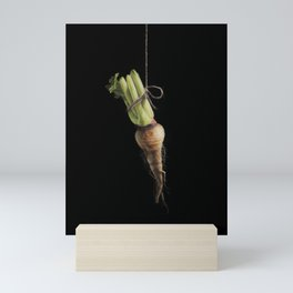 Vegetable Vanitas: The Parsnip by Brooke Figer Mini Art Print