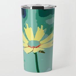 Wildflower Tickseed Coreopsis Travel Mug