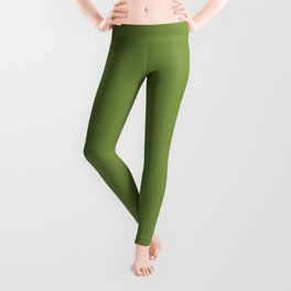 Color of the day Designer Colors  - Peridot - Green Leggings