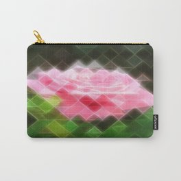 Pink Roses in Anzures 3 Art Triangles 2 Carry-All Pouch