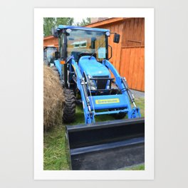 New Holland Workmaster 75 Tractor  2 Art Print