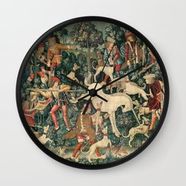 The Unicorn Defends Itself Wall Clock
