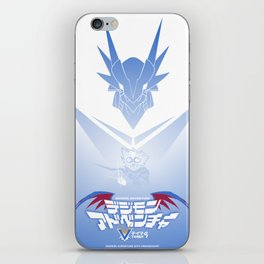 Back to Zero | Digimon Adventure V-Tamer 01 iPhone Skin