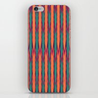 knitting iPhone & iPod Skins featuring Knitting Flames by VessDSign