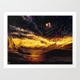 Eos. version 2. Art Print