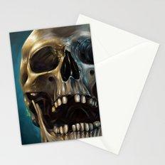 Skull 4 Stationery Cards
