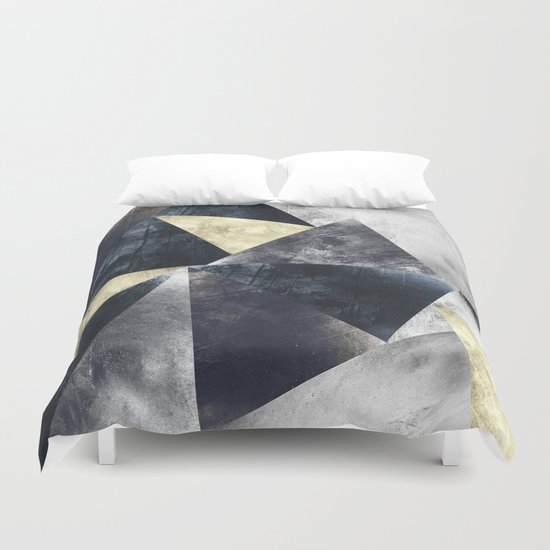 Geometric Pattern  Duvet Cover