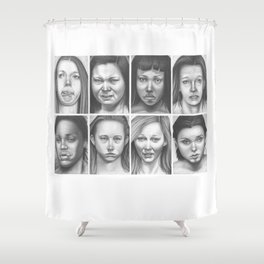 cry, don't cry Shower Curtain