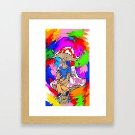 Feelin' Shroomish! Framed Art Print