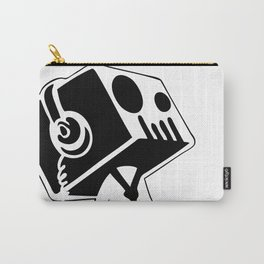 Boxed Skull, Named Ick - Business and Pleasure Carry-All Pouch