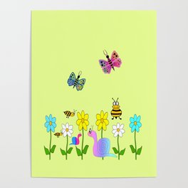 Charming Nature Poster