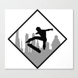 Flip Canvas Print