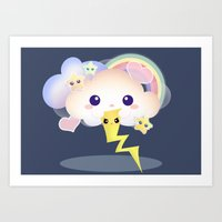 Don't make me cry! Art Print