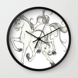 horse of DOOM Wall Clock