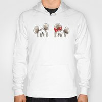 minnie mouse Hoodies featuring Mickey and Minnie Mouse.  by Christa Morgan ☽