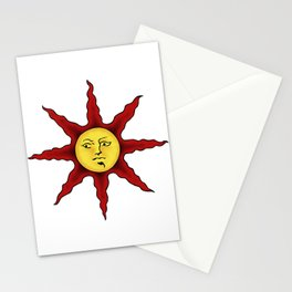 Praise the sun Stationery Cards