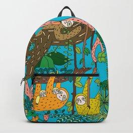 Happy Sloths Jungle Backpack