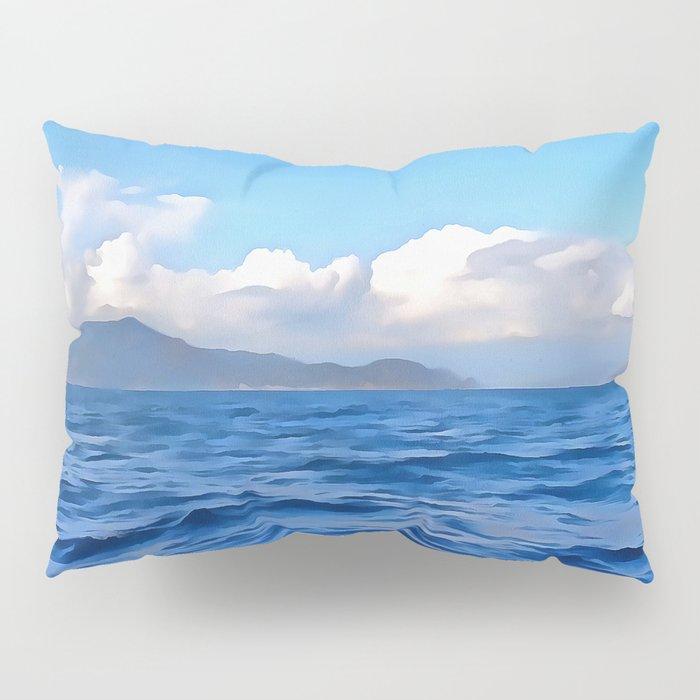 Aegean Blue Pillow Sham