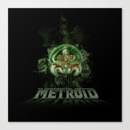 The Last Metroid Canvas Print
