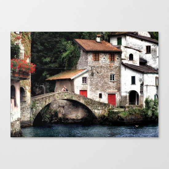 Ponte della Civera Canvas Print