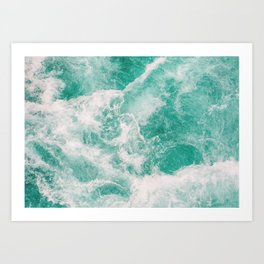 Whitewater 1 Art Print