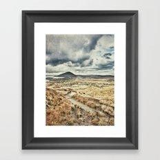Rainbow in Ireland Framed Art Print