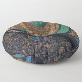 The Hard Sell Floor Pillow