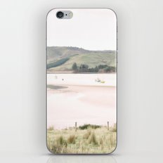 Boats on the water (color) iPhone & iPod Skin